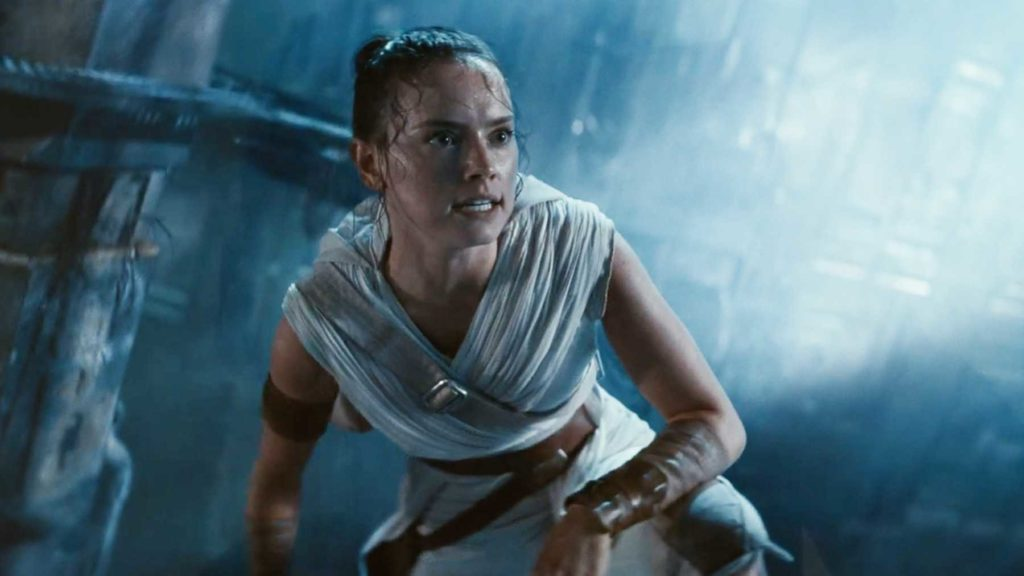Daisy Ridley as Rey in 'The Rise of Skywalker'.