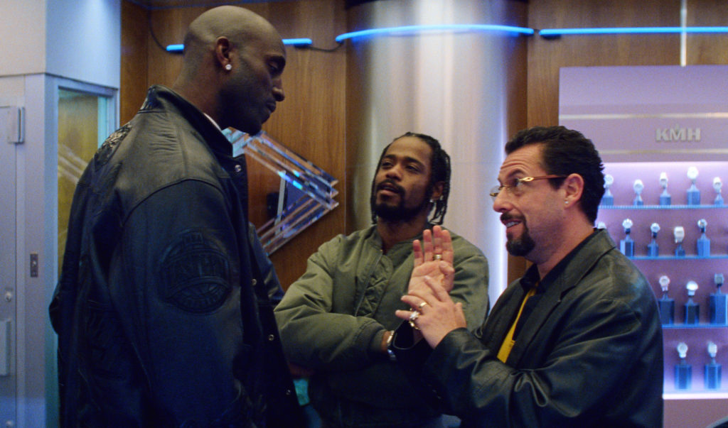 Kevin Garnett is a central figure in Uncut Gems, playing himself in the relentless, anxiety-inducing thriller.