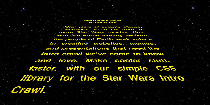 Rogue One almost had an opening crawl