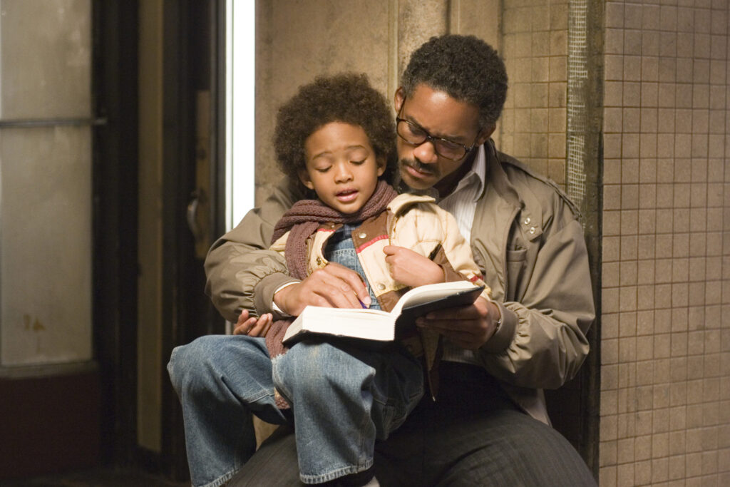 The 6 Greatest Movie Dads of All Time - Chris Gardner