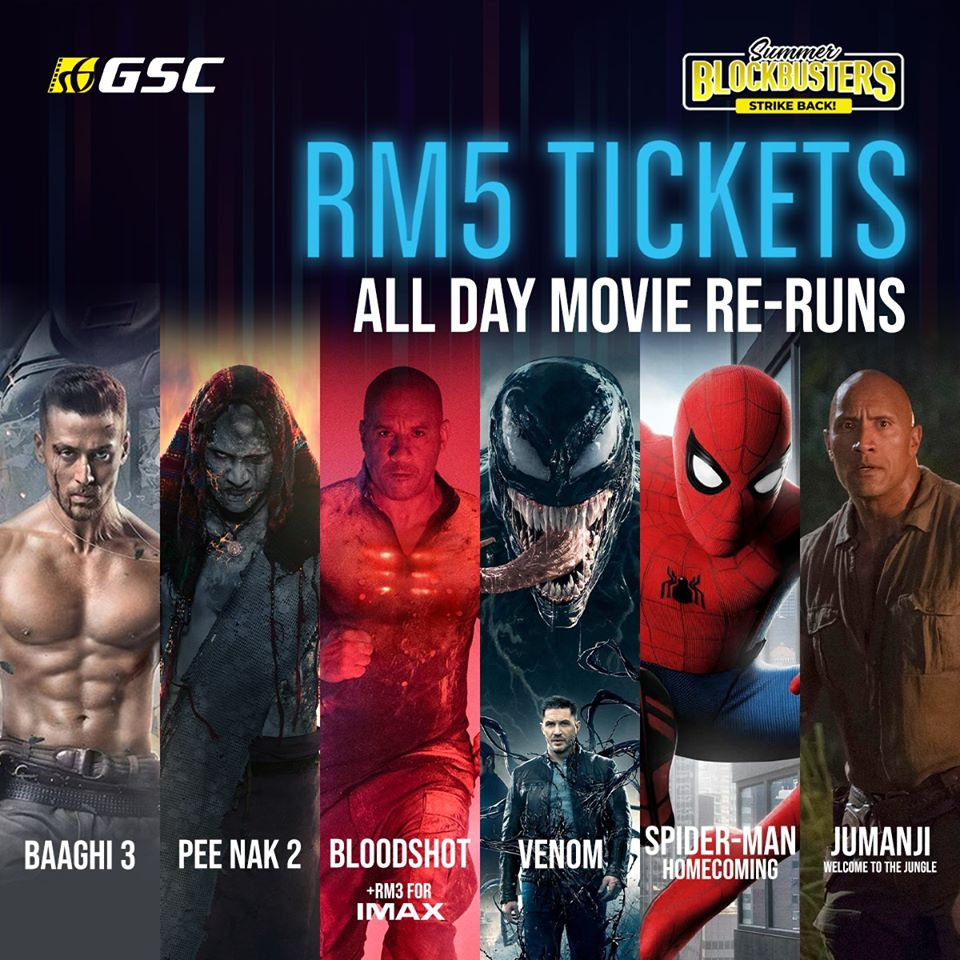 Malaysian Cinemas Reopened: Blockbuster Reruns You Can Watch Now